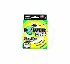 Sale Power Pro Braided Spectra Line 40lb by 100yds White (6707)