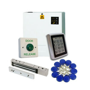 Proximity Access Control Kit with Power Supply and Maglock - Pro Kit
