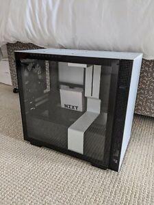 NZXT H210i Mini-ITX PC Gaming Case - White