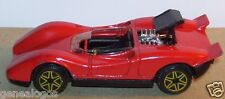 RARE POLITOYS EXPORT ABARTH 3000 ROUGE REF 594 1970 1/43