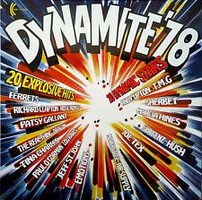 Dynamite 78–LP-1978 K-Tel-Jeff St John-Ferrets-Mother Goose-Hush-Dragon-TA258