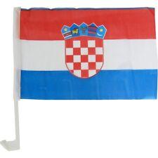2 x Autofahne / Autoflagge Kroatien