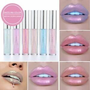 Waterproof Long Lasting Metallic Matte Liquid Lipstick Glitter Lip Gloss Makeup-