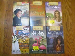 Lot of 6 Paperback Post Card Love Finds You books Inspirational Romance Novels