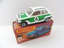 Matchbox Superfast 21c Renault 5tl-Koni-como Nuevo/Caja