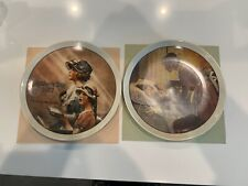Norman Rockwell Mother's Day Plates Coa Included 1976 1977