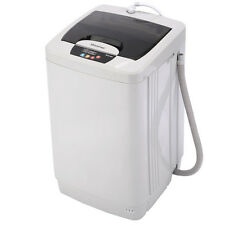 Portable Washing Machine Washer Small Automatic 1.87 Cu.ft/12 lbs Spin Furniture