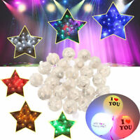 10Pcs Mini LED Ball Lights Battery Powered Balloon Lamp Christmas Party Decor