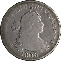 1806 Bust Quarter G/VG Nice Eye Appeal