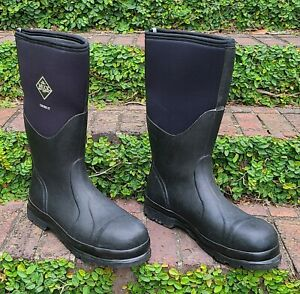 Muck Boots CHORE ST Waterproof Pull On Work Boots Men's Sz 13/13.5 STEEL TOE