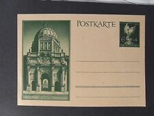 "GERMANIA,GERMANY Postkarte 1944 REICH ,""Orefici "" 1 Cartolina Postale  6+4 p"