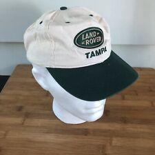 Range Rover Ball Cap Grey White Orange New OS
