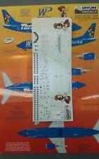 1/144 Skyline Decals Western Pacific Thrifty Car Rental 737-300 Decals SKD1432