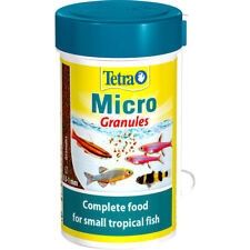 Tetra Micro Granules 100ml Complete food for small tropical fish