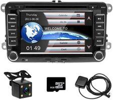 "7"" Doppel 2 Din Autoradio GPS Navi DVD für VW PASSAT GOLF Tiguan Sharan Caddy"