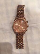 Michael Kors Women's MK5569 'Lexington' Rose Gold-Tone Watch
