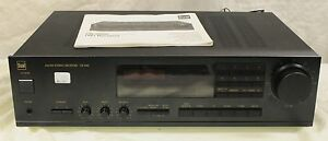 Dual CR 5900 AM/FM Stereo Receiver Amplifier + Manual - 220V (CR5900)