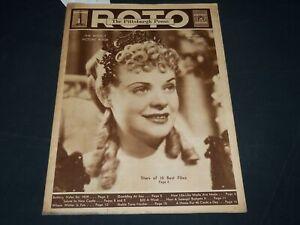 1939 JANUARY 29 THE PITTSBURGH PRESS SUNDAY ROTO SECTION - ALICE FAYE - NP 4552