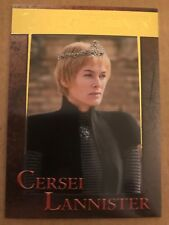 GAME OF THRONES - SEASON 7: GOLD PARALLEL BASE CARD: CARD 24 - CERSEI LANNISTER