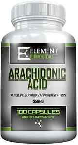 ARACHIDONIC ACID 350mg x 100ct by ELEMENT NUTRACEUTICALS