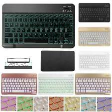 """Wireless Backlit Keyboard For Samsung Galaxy Tab A S6 S5e S4 7""""~10.5"""" Tablet PC"""
