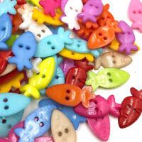 100pcs Gear Plastic Buttons 14mm Sewing Craft 2 Holes Wholesales PT106