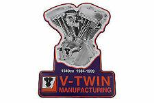 1340 Evolution Engine Plaque,for Harley Davidson,by V-Twin