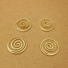 50pcs Multi-circle Pendants Layered Circle Pendants Dangle Earrings / Necklaces
