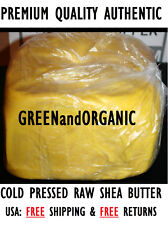 PREMIUM 100% ORGANIC PURE  RAW UNREFIND AFRICAN SHEA BUTTER 5 LB [FREE SHIPPING]