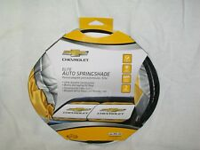 Sunshades 2 Pc Auto Springshade Chevrolet Chevy Logo Universal Fit *New