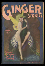 Hi-Grade Spicy Pulp Magazine Enoch Bolles Pin-up Cover Ginger Stories April 1929
