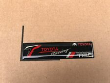 NEW TOYOTA TRD RACING SPORT TRUNK TAILGATE I FENDER EMBLEM LOGO BADGE DECAL #13