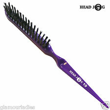 Back Comb Backcombing Hair Brush Head Jog Range Professional Purple (10)