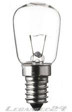 Glühlampe 12V 15W E14 28x64mm klar Glühbirne Lampe Birne 12Volt 15Watt neu