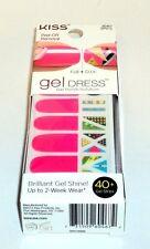 KISS Peel Off Removal GEL DRESS 40 Gel Strips Up To 2-Week Wear FAIRY DUST