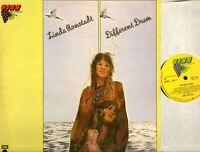 LINDA RONSTADT different drum (UK Reissue) LP EX+/VG Folk Rock, Country Rock