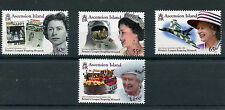 Ascension Island 2015 MNH Queen Elizabeth II Longest Reigning Monarch 4v Set