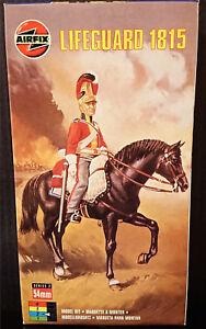 Airfix British Life Guard #02556 - mint in box 54mm model kit - store stock