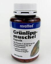 Grünlipp-Muscheln Kapseln mit Vitamin C und Kupfer 180 Kapseln revomed