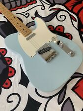 More details for fender vintera '50s telecaster electric guitar - sonic blue