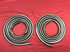 SUPER SOFT 1967-1972 FORD TRUCK DOOR SEAL / WEATHERSTRIP PAIR / SET LEFT & RIGHT