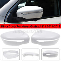 Door Wing Mirror Cover Casing Cap Left  Right Side For Nissan Qashqai J11   .-