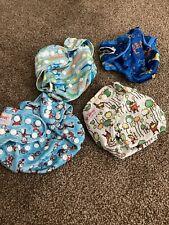 New ListingLot Of Bumkins Dr Seuss Reusable Adjustable Pocket Cloth Diaper Excellent!