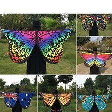 Damen Wickelschal Bedecken Schöner Schmetterling Flügel Handtuch Kostüm Umhang