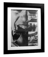 PETER GABRIEL+Biko+POSTER+AD+RARE+ORIGINAL 1980+QUALITY FRAMED+FAST GLOBAL SHIP