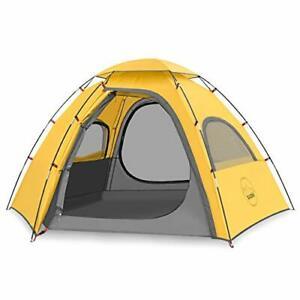KAZOO Outdoor Family Tent Durable Lightweight Waterproof Camping Tents Easy S...