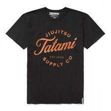 TATAMI Logo Classique Jujitsu T-shirt Homme MMA Jiu Jitsu Haut Décontracté Toute...