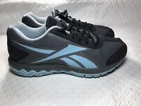 Reebok Women's Gray/Blue Running Athletic Shoes Size-10