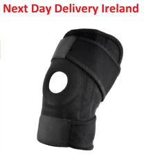 Black Knee Brace Pad Support Protect Compression Breathable Running Support