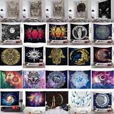 Galaxy Tapestry Sun Moon Sky Tarot Wall Hanging Throw Bedspread Cover Home Decor